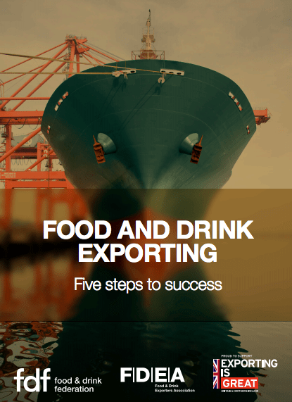 5 steps to food and drink exporting