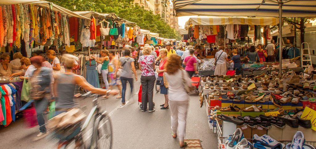 selecting a market