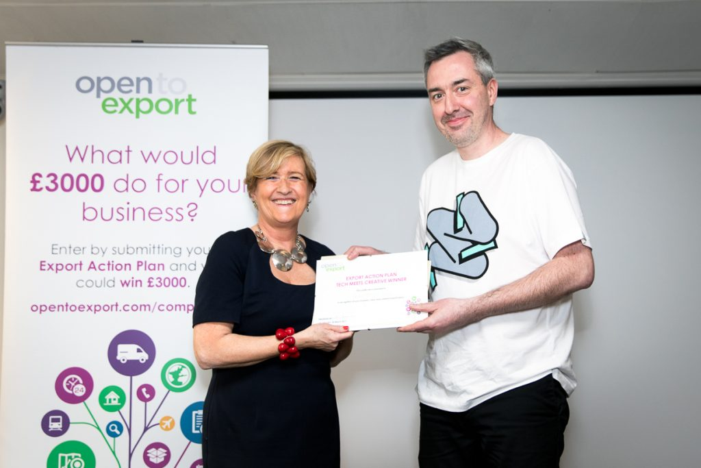 export action plan winner creative and tech