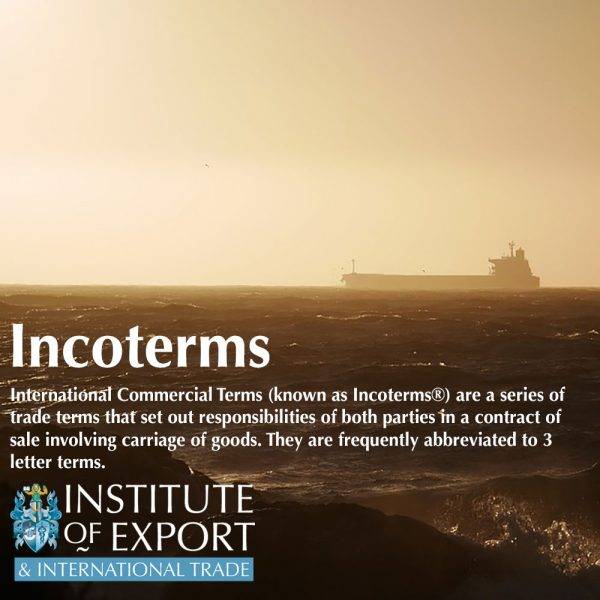 what are incoterms