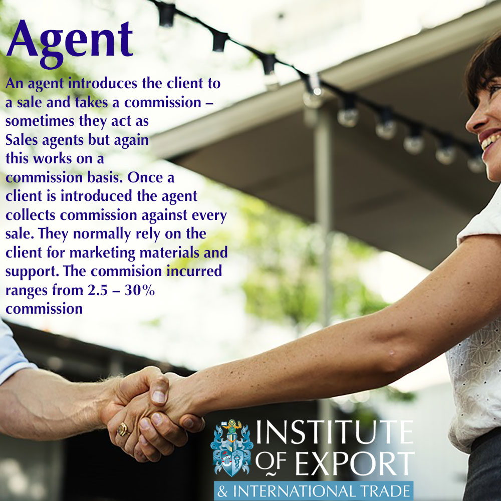 what is a sales agent